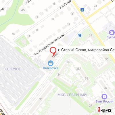 maps oskol